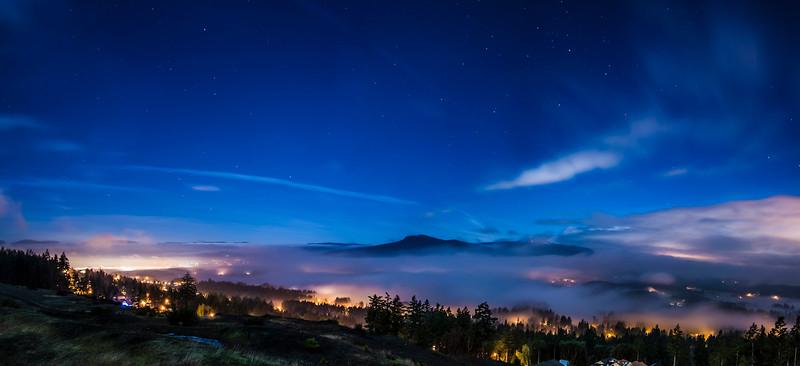 Moonlight Glow over Cowichan