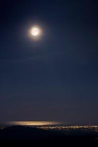 Full Moon Over Victoria