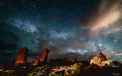 Devil's Garden Milky Way
