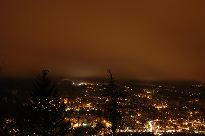 cloudy night in breck