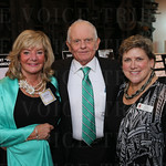 Judy Tonini, Larry Hardin and President / CEO Karen Morrison.