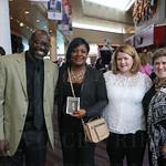 Comedian Keith McGill, guest comedian Sadiqa Reynolds, COO Janet Gruenberg and President / CEO Karen Morrison.