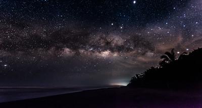 Tropical Milky Way