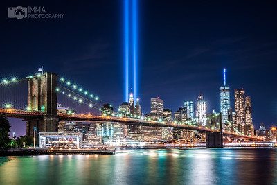 Tribute In Light From Brooklyn 1