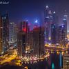 Dubai Address @ Night