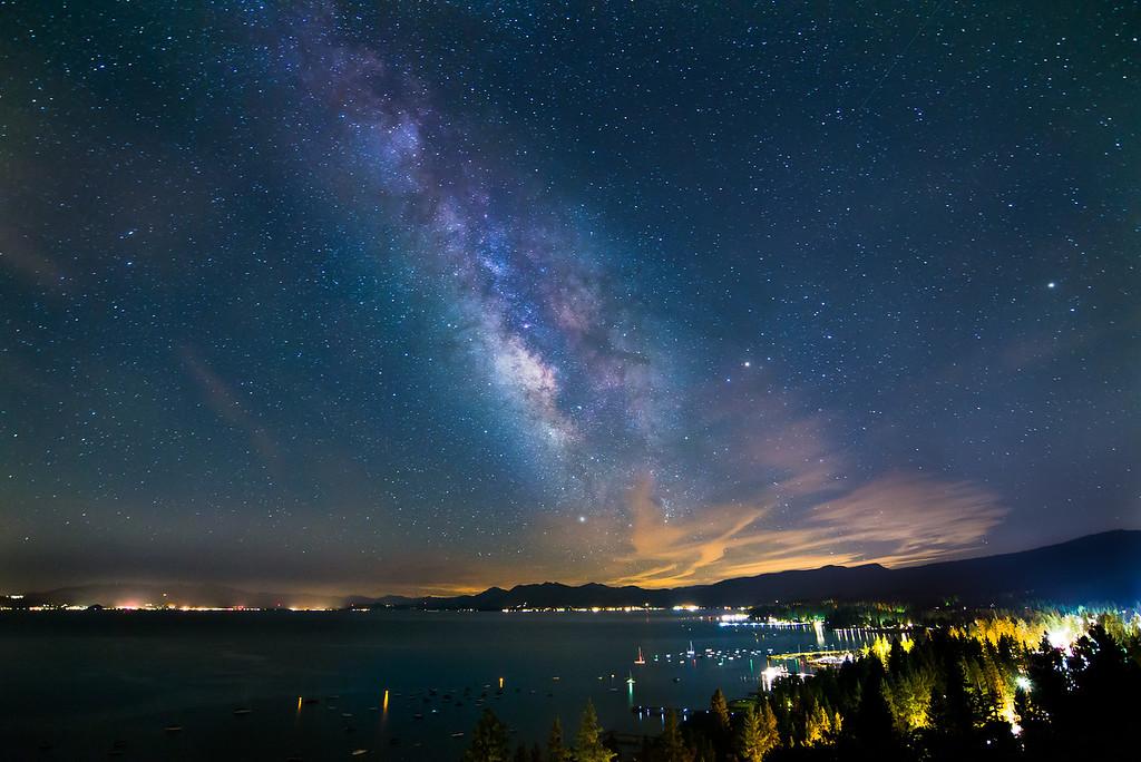 Lake Tahoe in the Big Picture, California