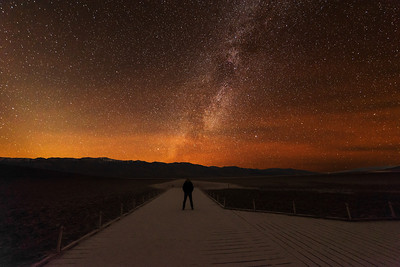 Walking  the Milky Way