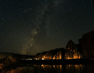 Shooting Star and River