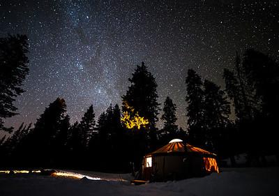 Yurt and Stars