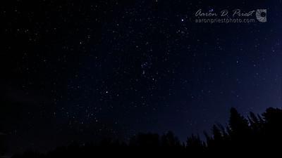2012-12-13 Geminid meteor shower 1080p