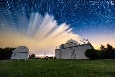 Modine-Benstead Observatory, Union Grove, Wisconsin