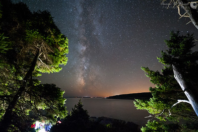 Milky Way setting from Otter Point