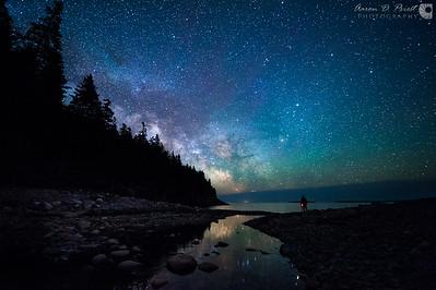 Milky Way over Hunter's Head