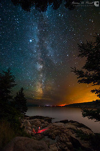 Otter Point, Acadia National Park, Maine July 25, 2014, 12:35 AM
