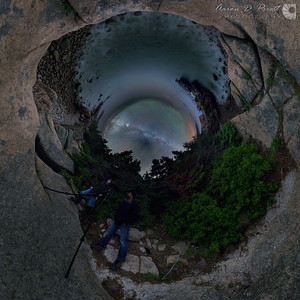300° fisheye view