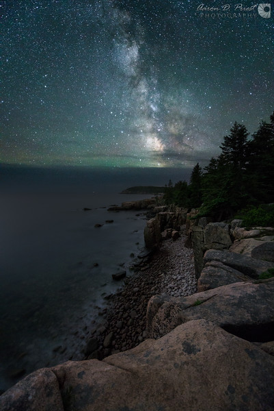 Milky Way from Ocean Path