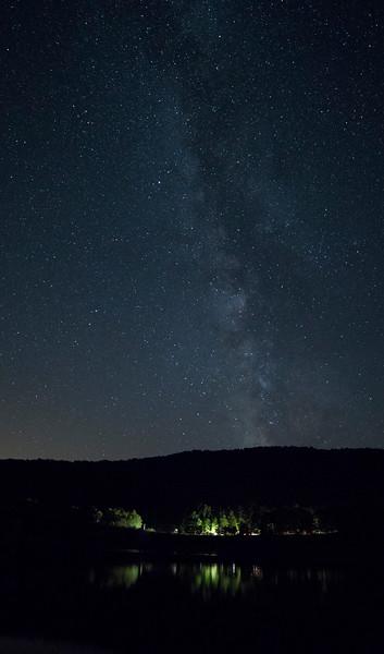Milky Way, Catskills NY