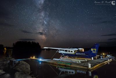 Milky Way Takes Flight