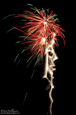 Side Show Bob Fireworks