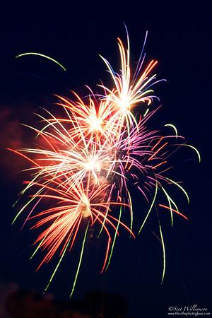 Streaking Fireworks