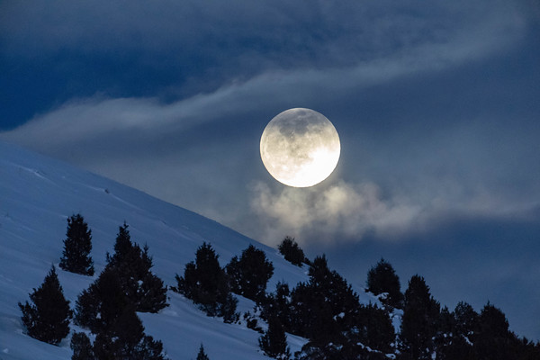 Super Snow Moon