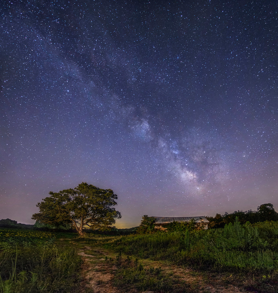 Reidsville Milky Way