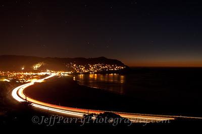 Pacifica Linda Mar Beach twilight