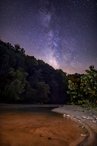 Stars over the Dan River
