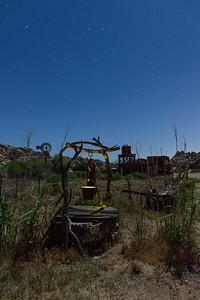 Joshua Tree NP, Key's Ranch, well.