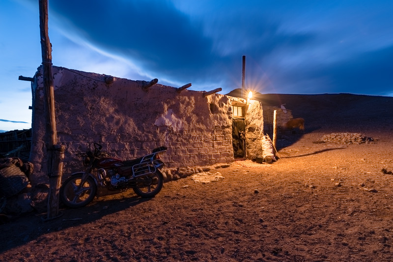 Kazak Winter Home