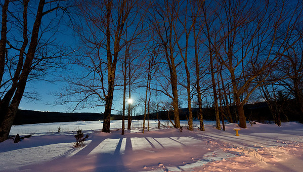 Moon light on snow II