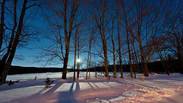 Moon light on snow II