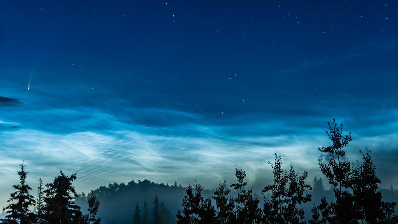 Comet and Cloud