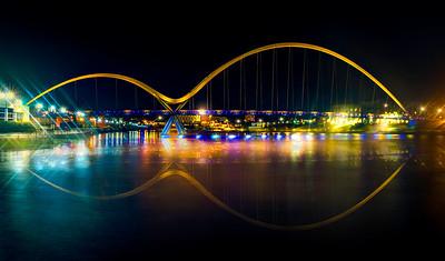 City nights and city lights.
