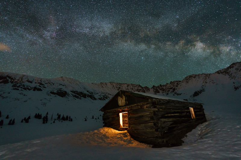 Late May Milky Way, Mayflower Gulch, CO