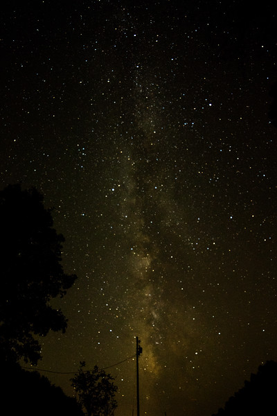 Milky Way over Schloss Hollow