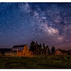 Mormon Barn milky way.