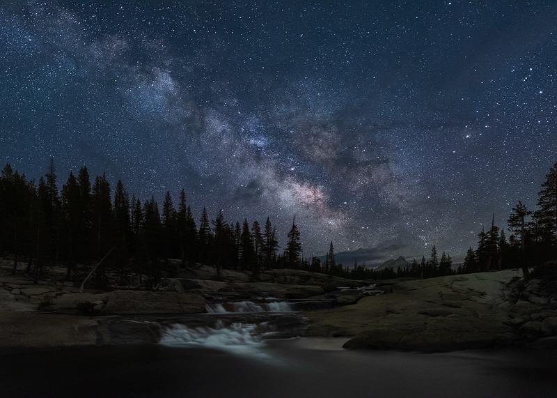 Tuolumne River Milky Way