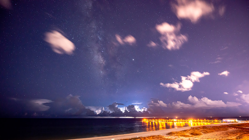 Gulf Shores and Galactic Center
