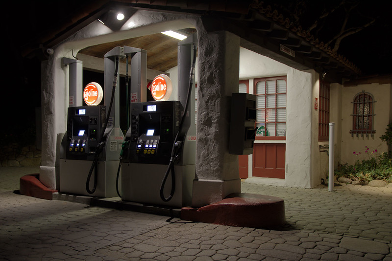 Carmel Highlands Gas Station
