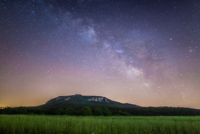 Spring Milky Way at Hanging Rock