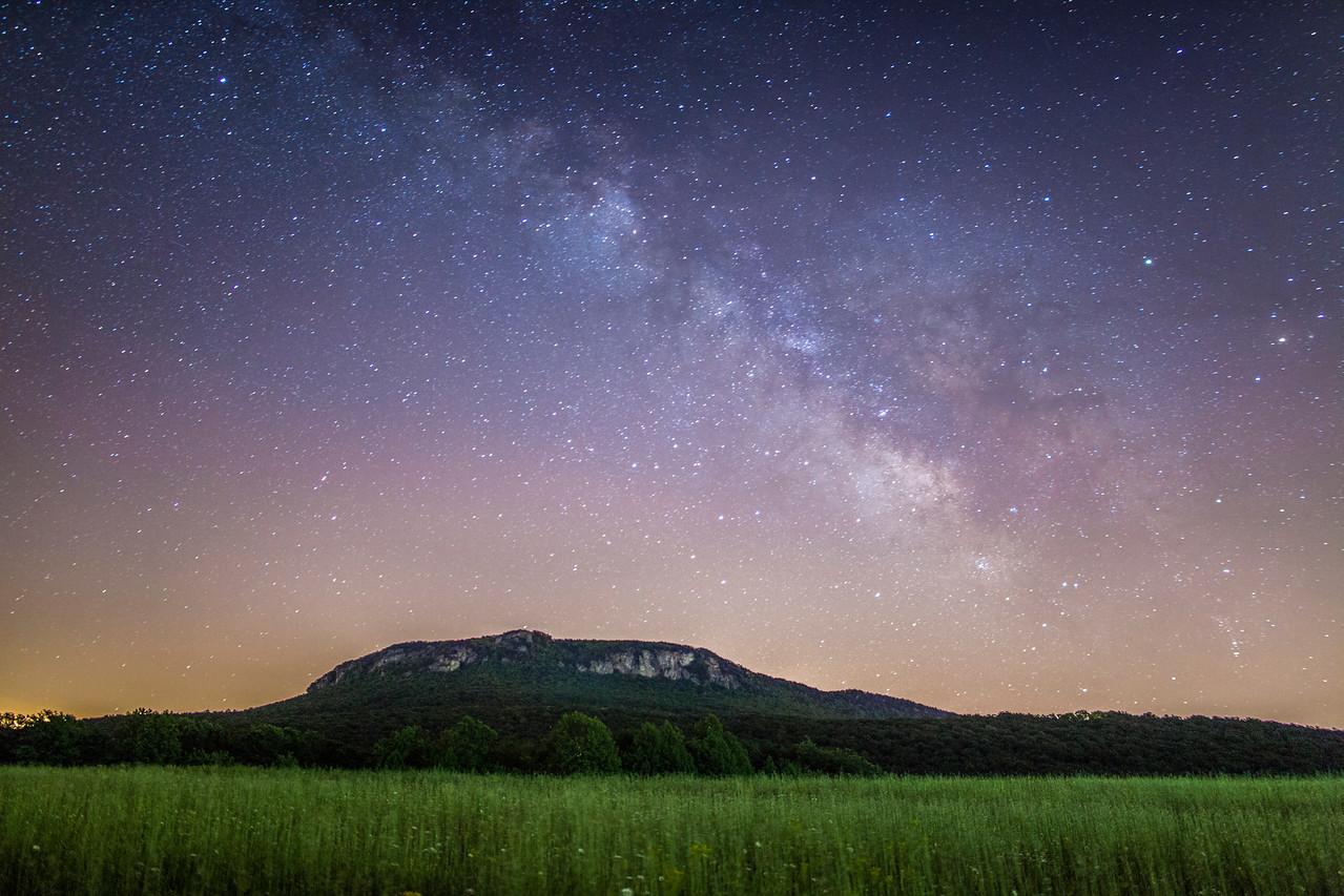 Spring Milky Way at Hanging Rock