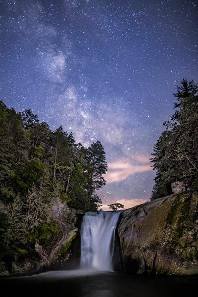 Elk River Falls Milky Way