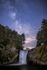Elk River Falls Milky Way