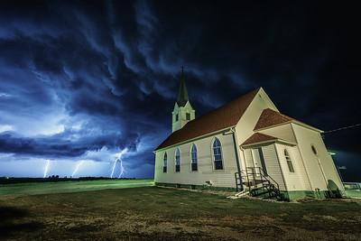 Lutheran Church awaits the Storm