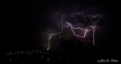 Lightning over Altoona