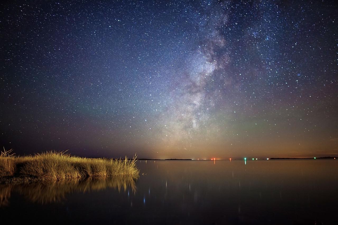 Pamlico Sound Milky Way
