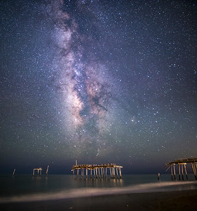 Frisco Pier Milky Way