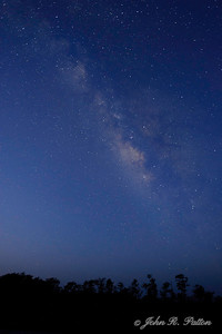 Night. Milky Way. Stars. Big Cypress National Preserve. Western Everglades. Florida. USA.