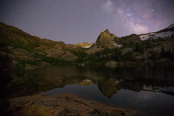 Milky Way Over Sundial Peak II